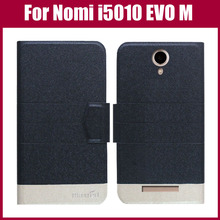 Hot Sale! Nomi i5010 EVO M Case High Quality 5 Colors Fashion Flip Ultra-thin Leather Protective Cover Phone Bag