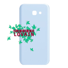 LOVAIN 10PCS For Samsung Galaxy A5 2017 A520 A520F Back Battery Cover Glass Housing Rear Door Case With Adhesive+IMEI Print(China)