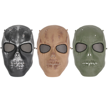 Airsoft Creepy Horror Ghost Skull Mask Outdoor Sports Live-action Paintball Game Mask Movie Props Cosplay Costume Party Mask