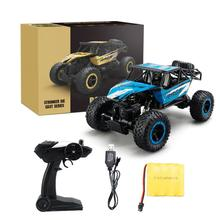 Buy 27*16.5*13.5cm2.4Ghz Rock Crawler 4 Wheel Drive Radio Remote Control RC Car Green blue 2017*Remote Control rc car kids boys for $37.24 in AliExpress store