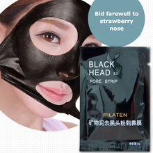 20pc Blackhead Remover Pore Clean Active Carbon Mask PILATEN Mineral Mud Membranes Clay Mask Cleaner Nose Acne Remover Face Care