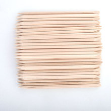 Belen 100pcs/lot 11.5cm Length Original Orange Wood Nail Art Tools Orange Wood Material Sticks Cuticle Pusher Remover for Nails