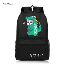 a7b132c6e4df Cute Cartoon Cat Print School Student Bag Backpack Laptop Backpacks Casual Teenager  Girls Boys Campus Mochila Feminina