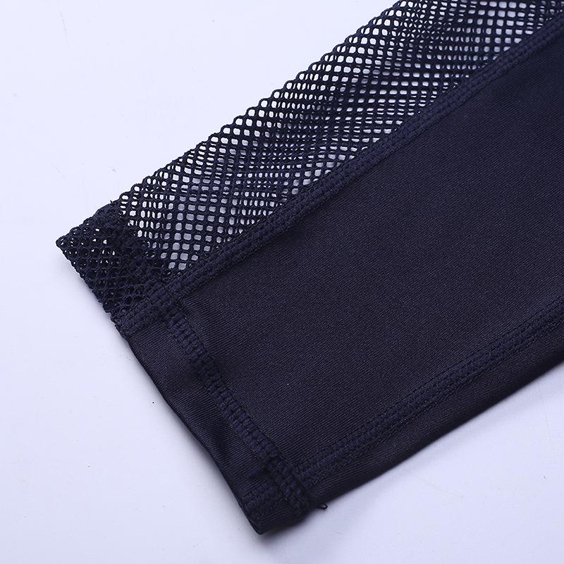 New Women Push-up Sporting Leggings Black Fashion Net Hollow Elastic Skinny Fitness Leggings Sporting Clothing For Women 33