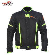 All climate motorcycle jackets detachable lining Men Blazer Motocross Protective Jacket Chaqueta Motorcycle Warm Sports clothing(China)
