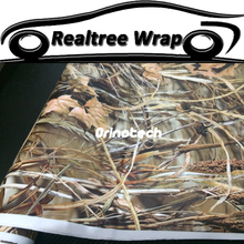 Car Styling Realtree Camo Wrapping Vinyl Realtree Camouflage Car Wrap Sticker Film Motorcycle Bike Truck Vehicle Covers Wraps(China)