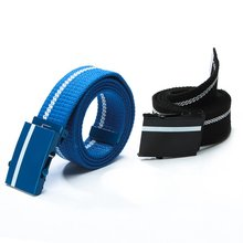Fashion Mens Womens Leisure Belts Unisex Joker Canvas Wide Belt Multicolor