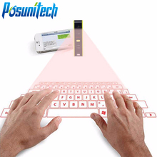 QWERTY Virtual Laser Keyboards KB320 Portable for Gaming iPad iPhone Samsung Tablet Mac Mini Wireless Bluetooth Keyboard USB(China)
