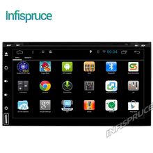 Android 6.0 car dvd for nissan qashqai juke ROM 16G 2 DIN universal car radio gps with wifi car stereo audio with CD DVD PLAYER(China)
