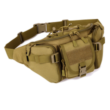 High quality Hip Packs Outdoor Pack Waterproof Bag Tactical Molle System Pouch Belt Bag Outdoor Sports Bags Military Equipment(China)