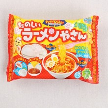 DIY Kracie Popin Cook candy dough Toys.Noodle Dumplings donut animal zoo happy kitchen Japanese food candy snacks making