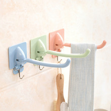 Home Kitchen Plug Holder Key Hanger Strong Vacuum Suction Wall Adhesive Key Holder Towel Hangers Hooks(China)