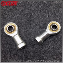 Universal Steering Go kart Tie Rod Ball Joint  8mm hole U-Joint end For Buggy Gokart Hotrod Project