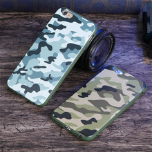 Luxury Army Camo Camouflage Rear Soft Slim Cover Case for IPhone 5s 5 6 7 Phone Case Silicone Shell Capa Coque for IPhone 6s 7 8(China)