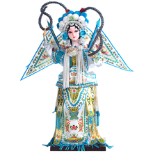 Decoration Arts crafts girl gifts get married Beijing silk doll doll ornaments product features China opera Home Furnishing Face(China)
