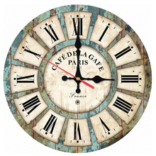2017 real hot wall clock wooden clocks home decor quartz watch single face still life stickers modern style circular new