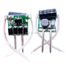 10PCS/LOT 3X1W LED Driver Input DC12V Output 2-4V 350MA Lighting Transformers For Led Bulb Lamp Lights