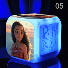 New Kids Personalized Gifts Moana Adventure Mo Ahna Mona Princess Doll Gift Anime Toy Figures Led light Toys for Children