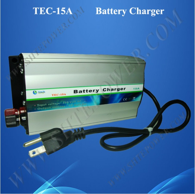 Lead Acid or Gel AC 220V 230V 240V to DC 12 Volt Car Battery Charger 15A<br>