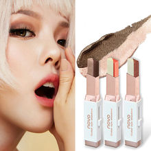 Novo Double Color Eye Shadow Gradient Color Velvet Makeup Pearl Eyeshadow Pen