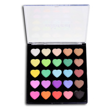 25 Colors POPFEEL Eyeshadow Palette Eyes Makeup Eye Shadow Kit Shimmer Natural Makeup Beauty Tool Promotion Price(China)