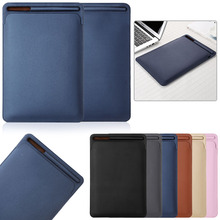 PU Leather Sleeve Case Cover Pouch For iPad Pro 10.5 light Weight Strong Durable Sleeve Bag Pouch With  Pencil Slot Design