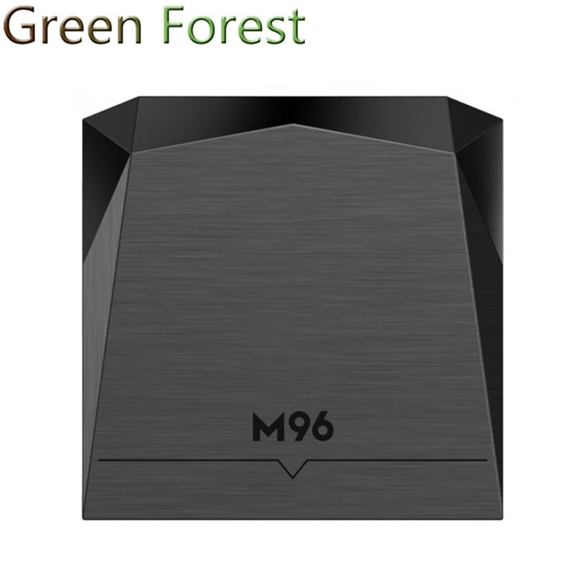New M96 Android 5.1 S905 2G 16G TV Box Quad-core Mali-450 Wifi kodi 1000 LAN Media Player<br><br>Aliexpress