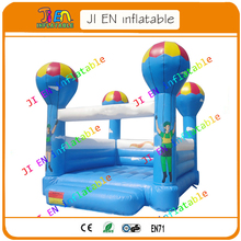 colorful balloon inflatable bouncer house / air bouncer inflatable trampoline free shipping to door by express / air jumper(China)