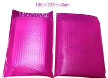 185*232mm 10pcs Large Pink Bubble Envelopes Bags pink Mailers Padded Shipping Envelope With Bubble Mailing Bag(China)
