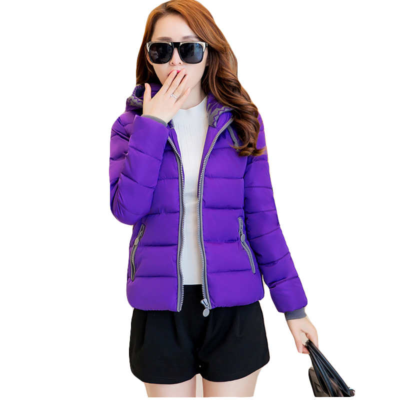 New 2017 Fashion Women Winter Down jacket Big yards Thickening Super Warm Coats Hooded Jacket Splicing Slim Coat C0125Одежда и ак�е��уары<br><br><br>Aliexpress