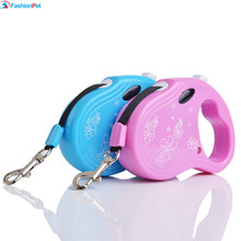 Dog Automatic Pet Leash 3M Length 15kg ABS Material Puppy Dog Cat Retractable Leash Lead(China)