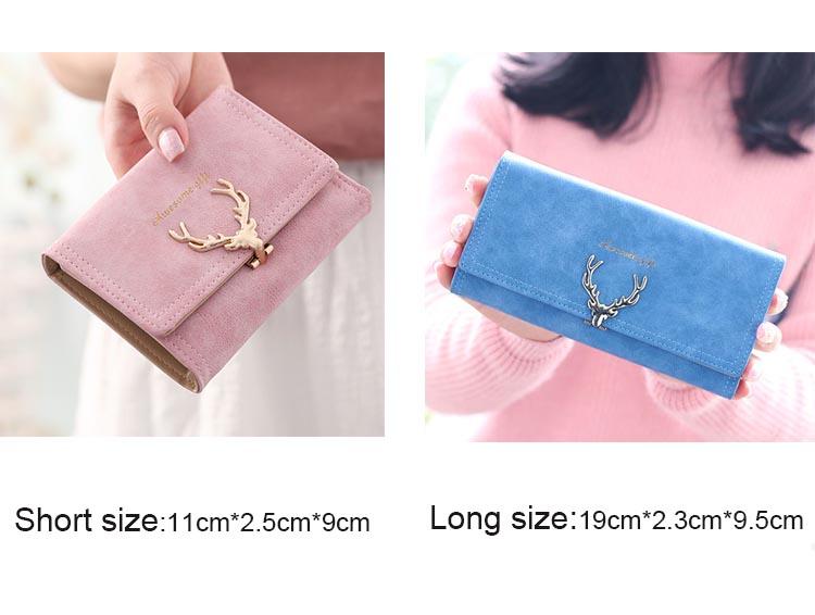 Awesome Gift Golden Deer Opener Wallet - Bagw47*