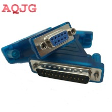 USB to Com USB to Serial RS232 Cable DB9 to DB25 Adapter DB9 female DB25 Male AQJG wholesale(China)