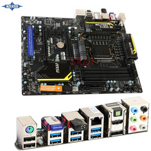 original Used Desktop motherboard For msi Z77 MPower Z77 support LGA 1155 4*DDR3 support 32G 4*SATA2 USB2.0 ATX