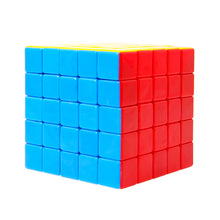 5x5x5 Stickerless Colorful Magic Speed Cube Professional Cube Puzzle Toys For children Kids Training Cubo Magico Toys Gift(China)