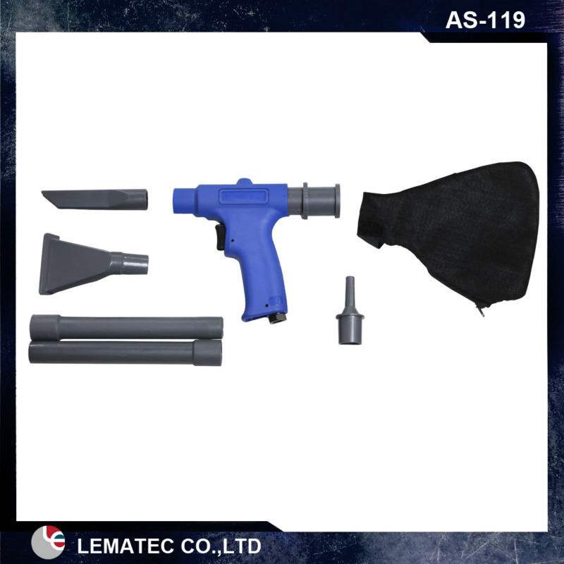 LEMATEC Pneumatic Tool hand held air vacuum gun set Air Gun Vacuum/Blower Kit Compressed air wonder gun kit<br>