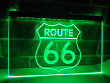 LB371- Historic Route 66 Mother Road   LED Neon Light Sign NR     home decor  crafts