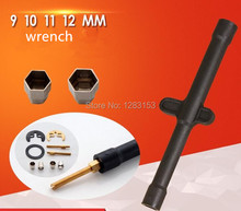 free shipping wrench tool faucet accessories Remove  tool Socket wrench horseshoe  diameter 9 10 11 12mm