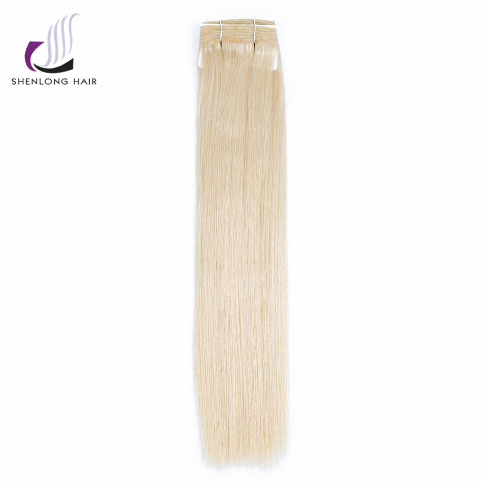SHENLONG HAIR Malaysian 100% Straight Human Hair 1Bundles #10/16  11 Color Choose Extensions Remy Hair  Weaving Mixed colors