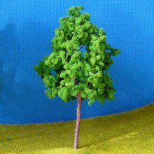 20Pcs Model Trees Train Scenery Landscape N Scale 1/150 Plastic Architectural Model Supplies Building Kits Toys for Children