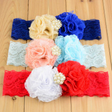 20 pcs/lot Shabby chic Headband photo prop