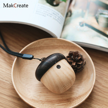 Acorn Portable Bluetooth Loudspeaker Box Nut Mini- Wireless Vehicle Audio Mobile Phone Walkman Bass Cannon Mid-autumn Gift