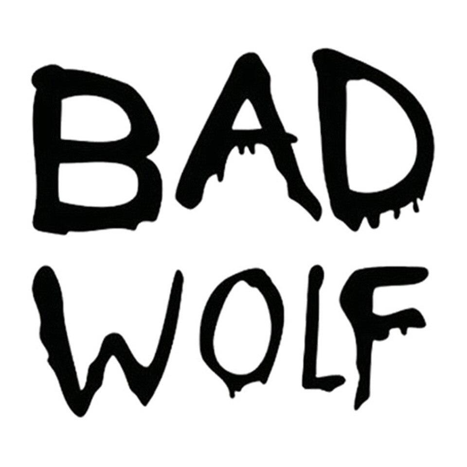 Cunymagos doctor who bad wolf fashion car styling vinyl stickers decals fashion creative car body