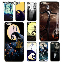 MaiYaCa Tim Burton Cartoon Special Offer Luxury Vertical phone case for iPhone 8 7 6 6S Plus X 10 5s SE 5C case Coque Shell(China)