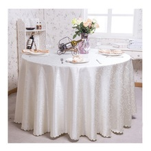 Europe High-grade Satin Table Cloth Tablecloths Tableware Wedding Party Restaurant Hotel Banquet Home Textile Toalhas De Mesa(China)