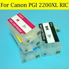 For Canon PGI2200XL Ink Catridge Compatible For Canon MAXIFY MB5320 iB4020 Plotter Printer Whit Auto Reset Chips(China)
