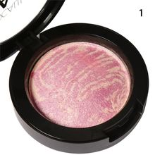 Baked Blush Palette Cheek Color Blusher Blush Colorete Bronzer Sleek Makeup Cosmetic(China)