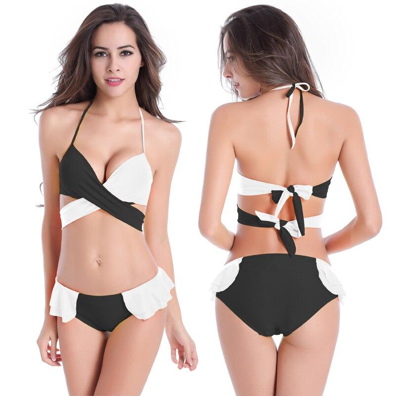 Europe New Arrival Sexy Women Bikinis Set Swimsuit Beachwear Multi Color Two Piece Bikinis maillot Bodysuit Bathsuit Strappy <br><br>Aliexpress