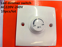 Silicon controlled rectifier dimmer switch AC 220v-240V  led dimmer light wall switch dimmer