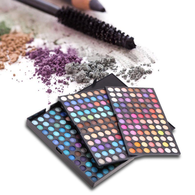 252 Colors Eye Shadow Plate Make-up Cosmetics Make Up Tool Shimmer Matte Eyeshadow Palette<br>